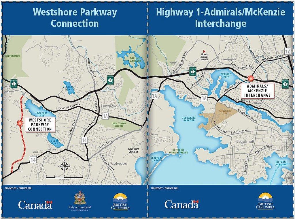 Westshore Parkway and Hwy 1 Interchange